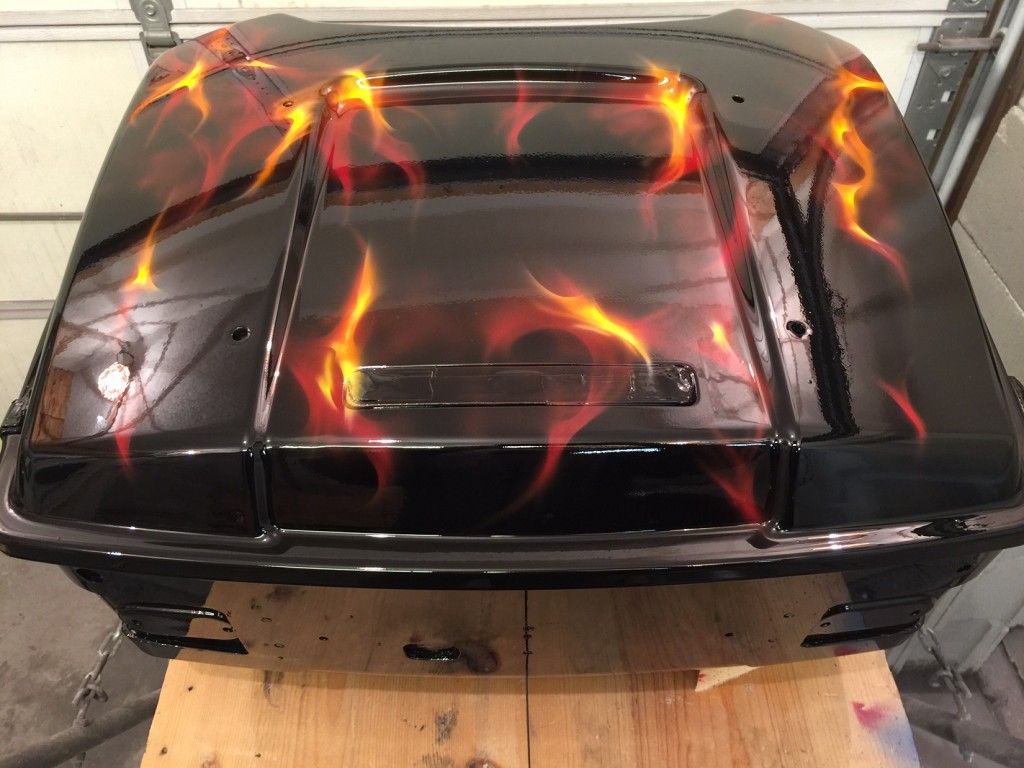How To Airbrush Real Fire
