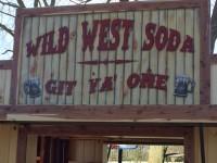 Soda Wagon Sign – Wild West Soda